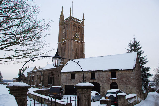 St John the Baptist church is situated in the heart of Colerne. Roman Cottage backs onto the church where you can hear the church bells every hour.